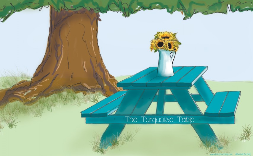 The Turquoise Table   kristinschell.com