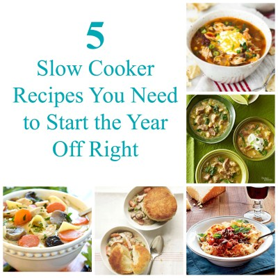 5 Slow Cooker Recipes You Need to Start the Year Off Right | theturquoisetable.com