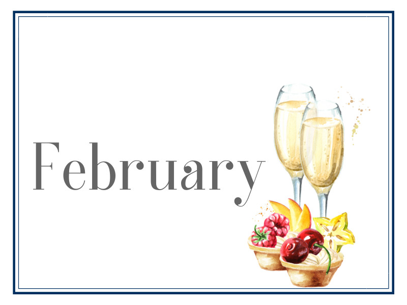 February Suppers for Sharing