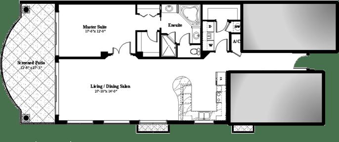 floorplan one bedroom