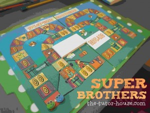 Super Brothers Game Boards