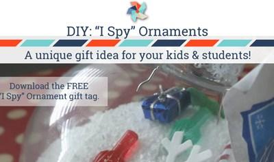 I Spy Christmas Ornaments