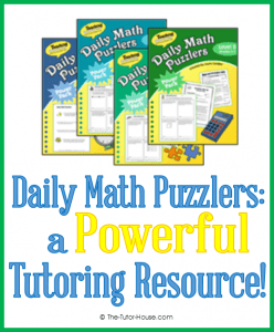 DailyMathPuzzlersbyLauraCandler_tutorresources