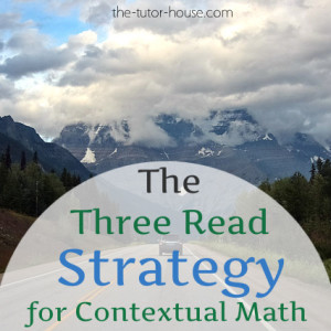 ThreeReadStrategyforMath