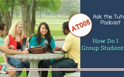 AT 005:  How Do I Group Students?