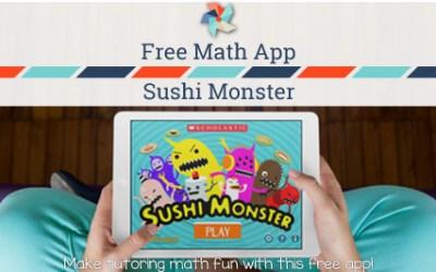 Sushi Monster – Free Math App