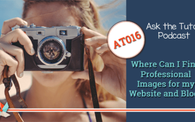 AT016: Where Can I Find Professional Images for my Website and Blog?