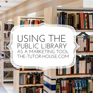 Using the Public Library as a Marketing Tool