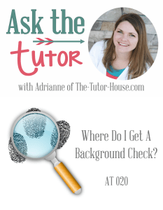 AT020: Where do I get a background check?