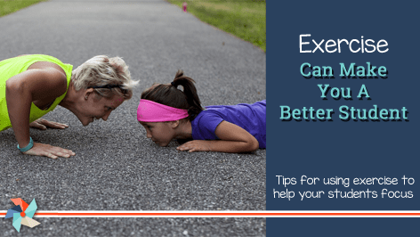 How Does Exercise Make You A Better Student?