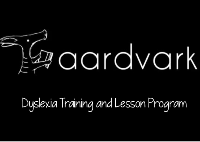 Aardvark Tutor Training