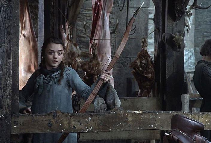 Arya shoots a bullseye.jpg