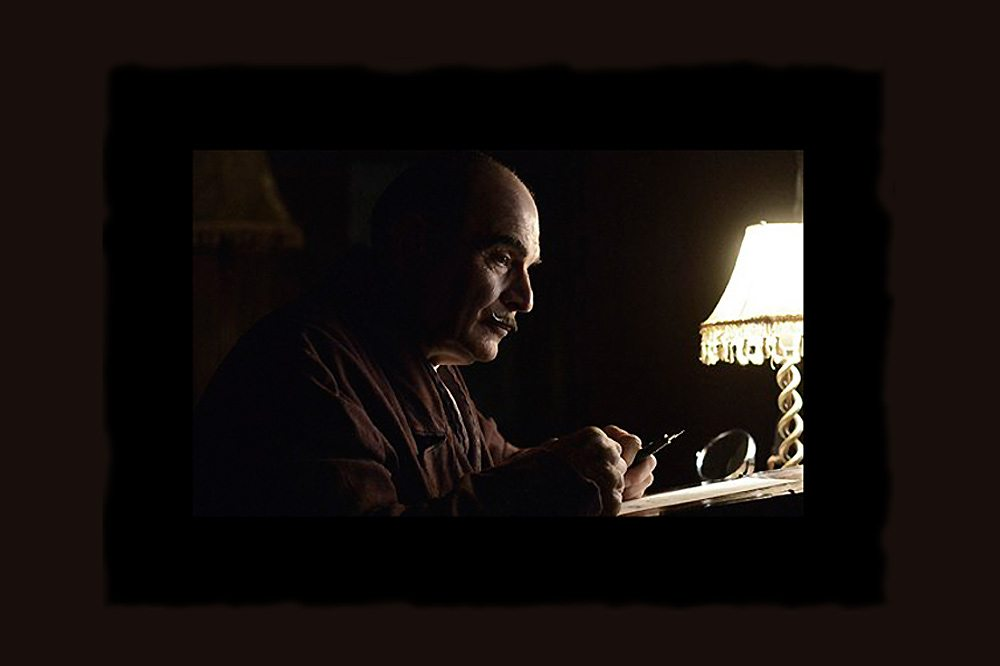 David Suchet in Curtain