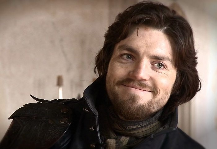 Athos from BBC America's Musketeers