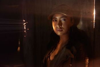 Rosita (Christian Serratos) Walking Dead, Season 5 Whither Abraham goeth, ROSITA goeth, but she also knows when and how to tell him he's on the wrong side of right. Strong, calm and always ready to plunge on, she remains committed to getting Eugene to Washington with or without the group. (Courtesy of AMC - Photo by Frank Ockenfels)