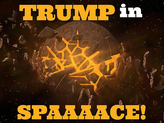 Fringe 2017-Trump in Space