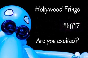 Hollywood Fringe Festival Poster Art