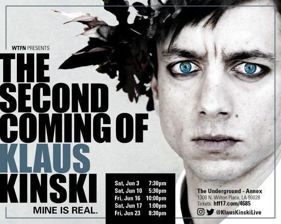 Second Coming of Klaus Kinski-Events