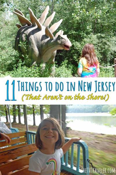 Pinterest graphic - 11 things to do in New Jersey.