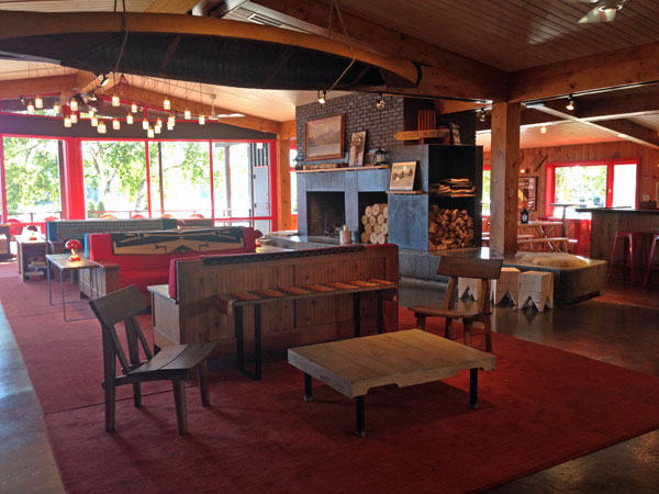 Lake House lounge, Lake Placid, NY
