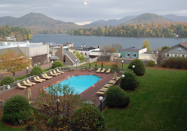 Pool at High Peaks Resort, Lake Placid, NY