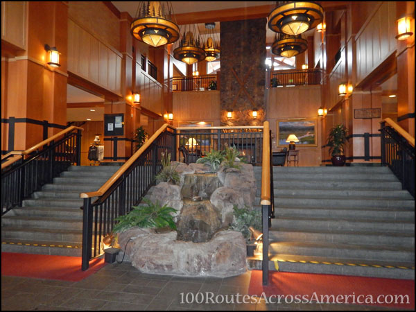 Lobby of Steamboat Grand, Steamboat Springs, Colo.