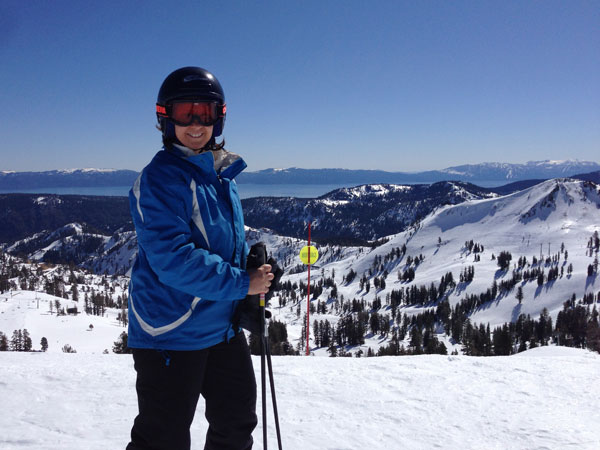 Squaw Valley in Lake Tahoe, Calif., is the spring skiing capital of the world!