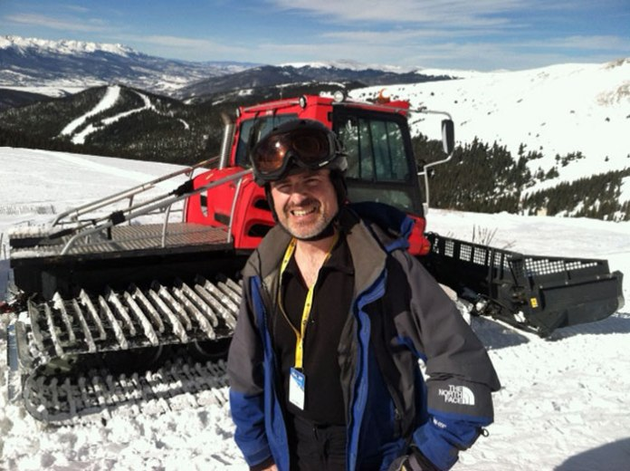 Snowcat to North Bowl at Keystone Ski Resort.