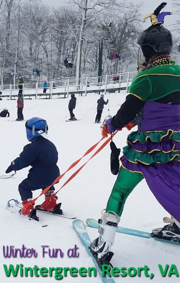 Skiing and so much more at Wintergreen Resort, Virginia.