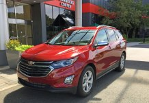 Fill up your coffee - the Chevy Equinox diesel can go 577 miles between fill-ups!