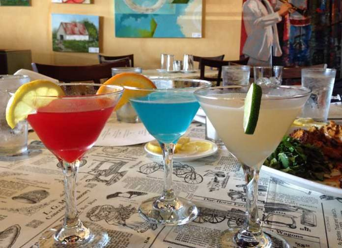 You'll find amazing food and unique cocktails at Ginny Lane on The Wharf in Orange Beach, AL.