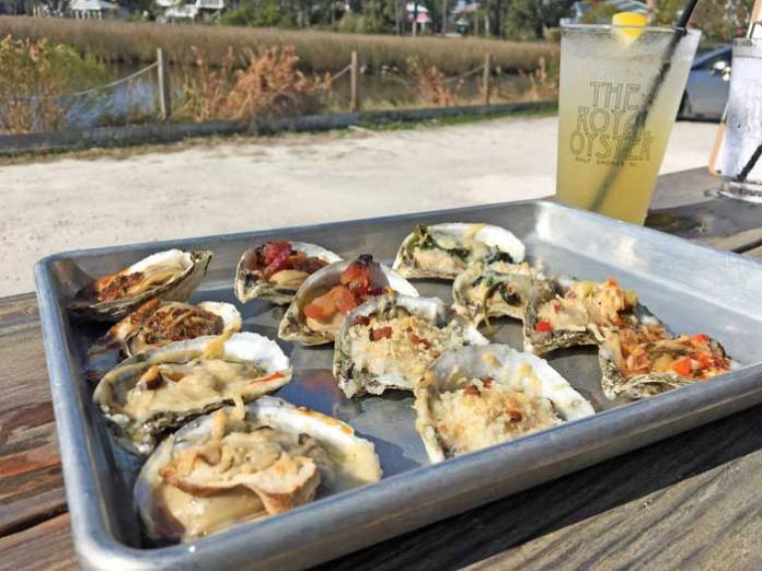 The Royal Oyster offers delicious Shellbanks Selects oysters in Gulf Shores and Orange Beach, Alabama.