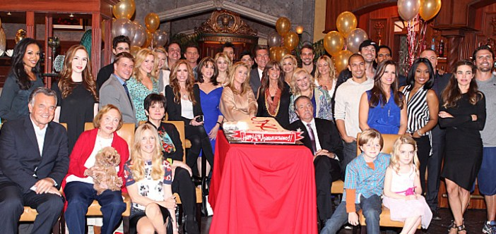 young and the restless anniversary