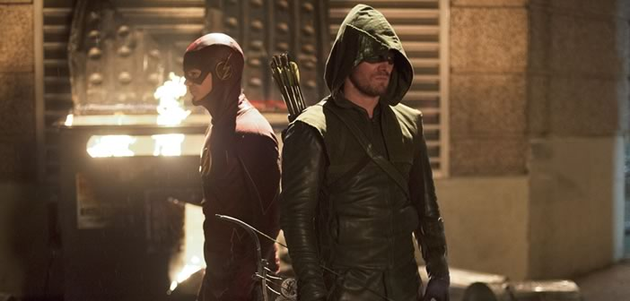 arrow and the flash crossover photos video