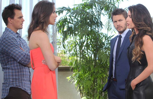 wyatt ivy liam steffy the bold and the beautiful