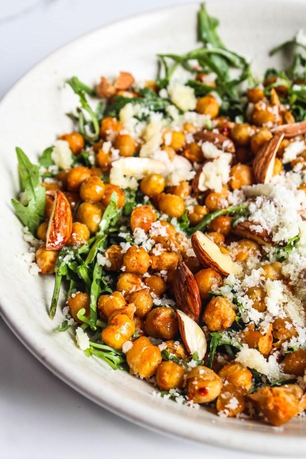 Arugula Chickpea Salad