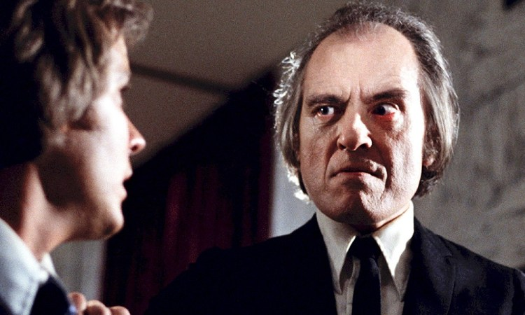 PHANTASM, from left: Bill Thornbury, Angus Scrimm, 1979. © Well Go USA /Courtesy Everett Collection