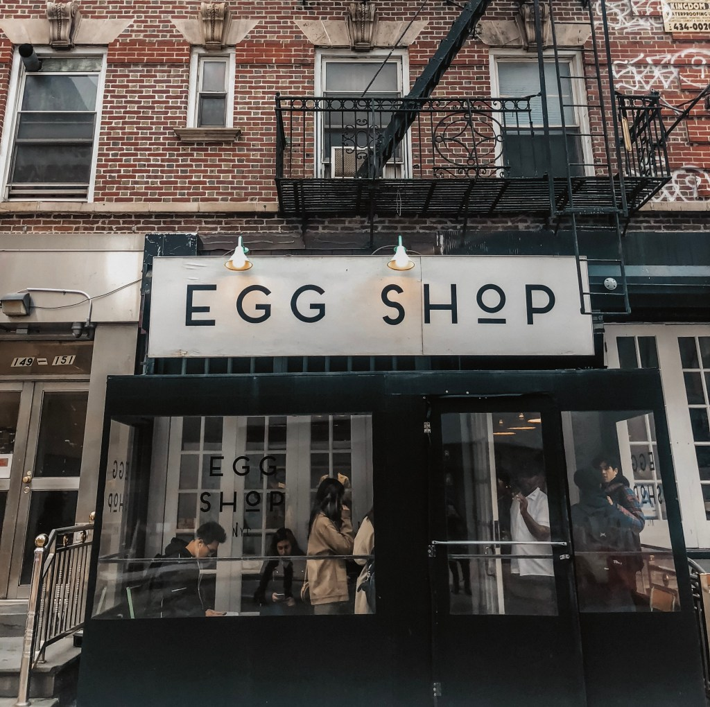 Egg Shop NYC -The Twins of Travel