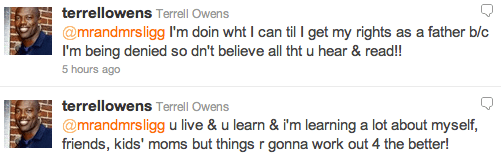 Terrell Owens Is Broke Bank Account Drained By Bloodthirsty Baby Mamas The Twist Gossip