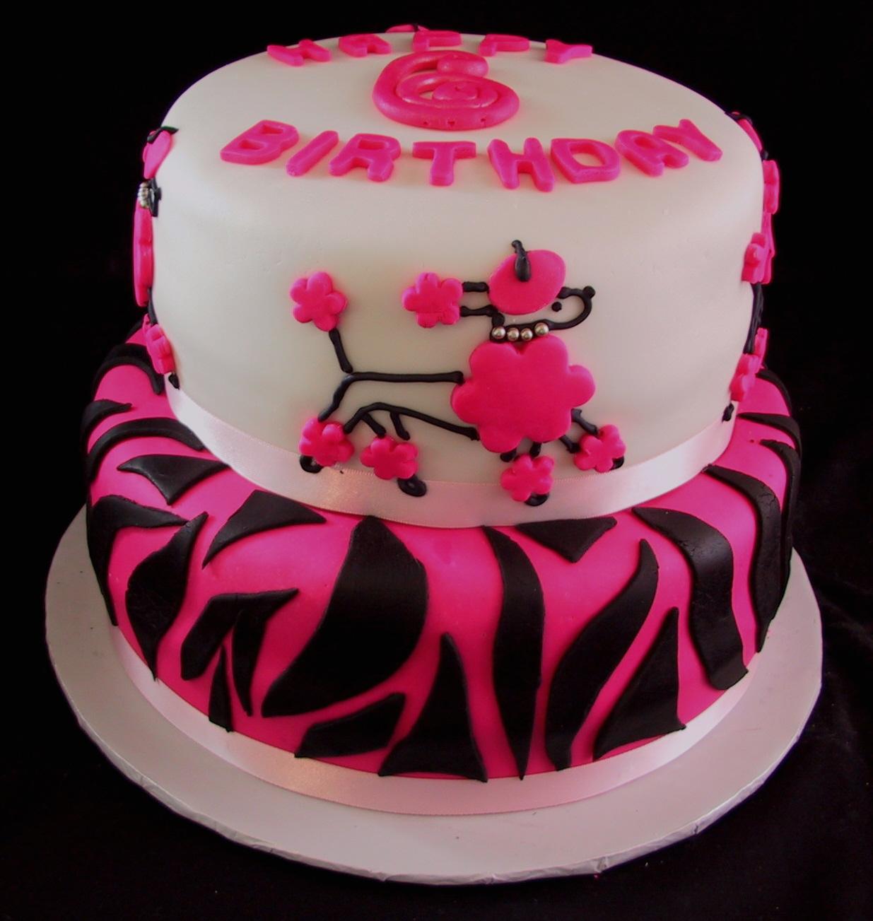 poodle cake 2
