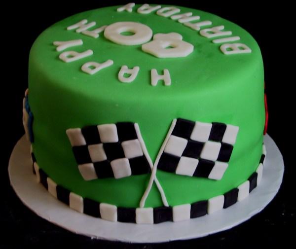 Nascar Dale Earnhart Jr Fondant Birthday Cake Danville