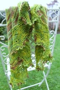 cladonia knitting shawl yarn