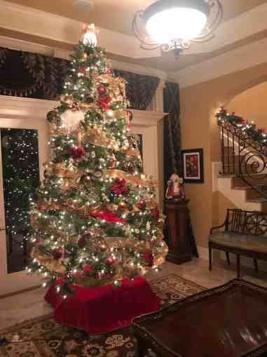 Elevated Christmas Tree