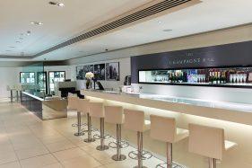 Harrods Champagne Bar