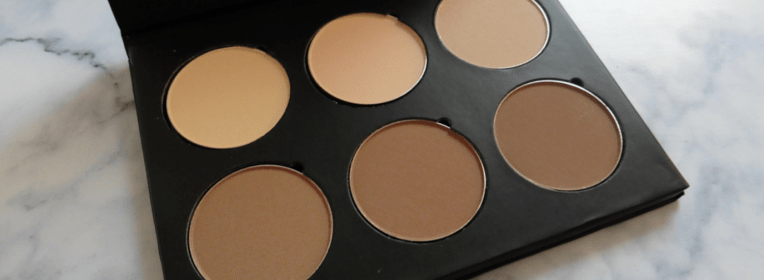 Fuschia face kit contouring palette ireland the two darlings beauty blogger parenting blog