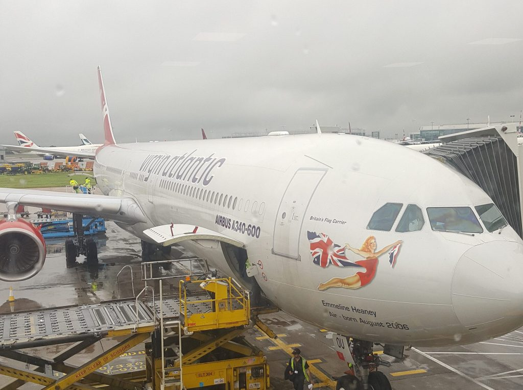 Virgin Atlantic Upper Class Review – VS003 LHR to JFK