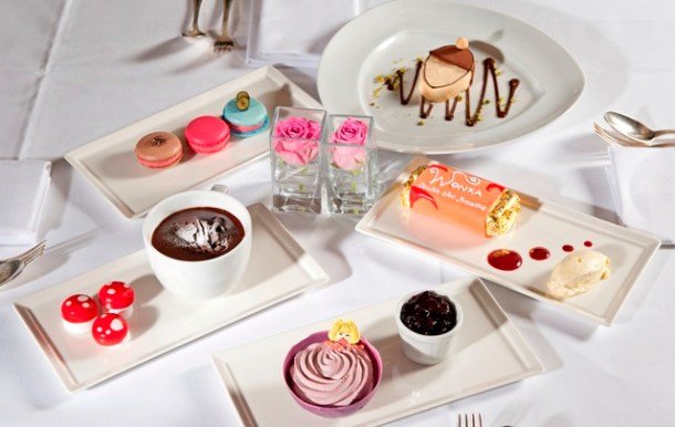 The Montagu's Charlie and the Chocolate Factory Inspired Desserts
