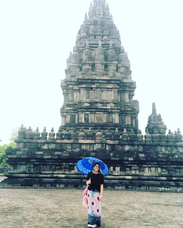 Travelling Wet Season Tips: prambanan temple in yogyakarta