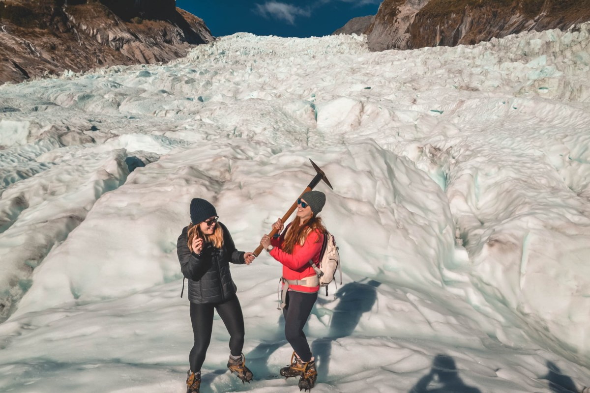 Fox Glacier heli hike c The Two Travelled