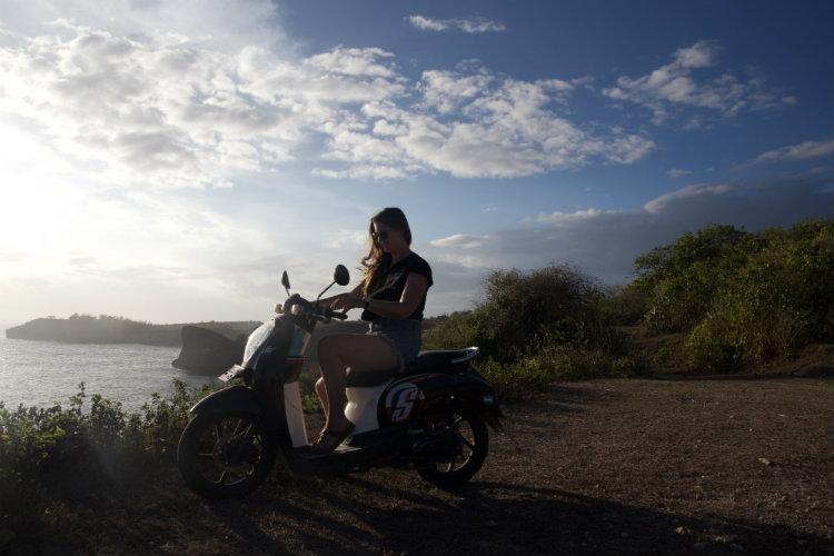 Nus Penida scooters